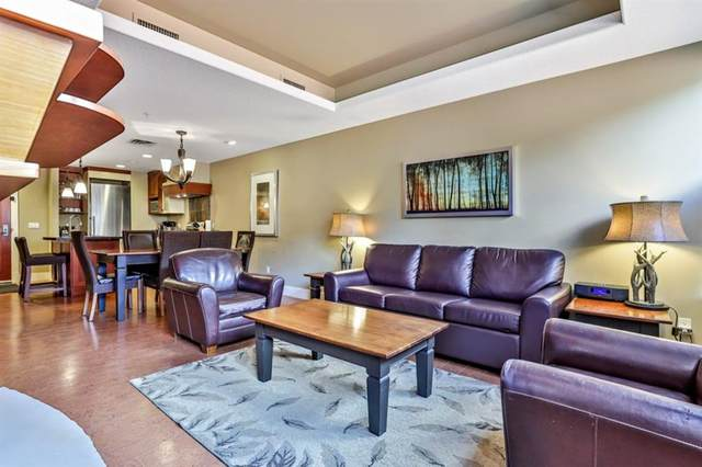 173 Kananaskis Way #111, Canmore, AB T1W 0A3 (#A1107695) :: Canmore & Banff