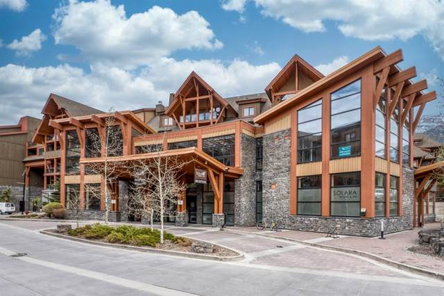 187 Kananaskis Way #315, Canmore, AB T1W 0A3 (#A1107900) :: Canmore & Banff