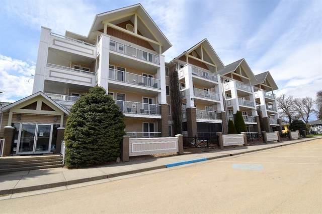 5419 49 Avenue #405, Camrose, AB T4V 4N6 (#A1108044) :: Calgary Homefinders