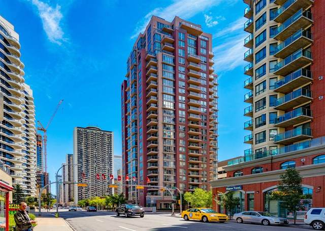 650 10 Street SW #1605, Calgary, AB T2P 5G4 (#A1108140) :: Canmore & Banff