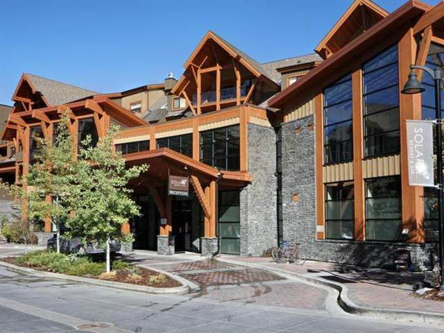 187 Kananaskis Way #301, Canmore, AB T1W 0A3 (#A1108244) :: Canmore & Banff