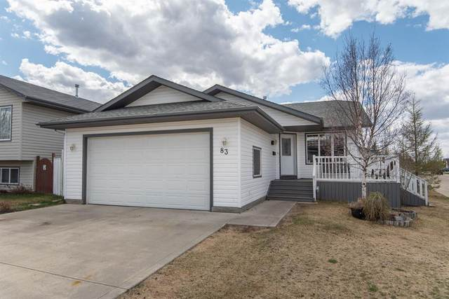 83 Lampard Crescent, Red Deer, AB T4R 2W7 (#A1108357) :: Calgary Homefinders