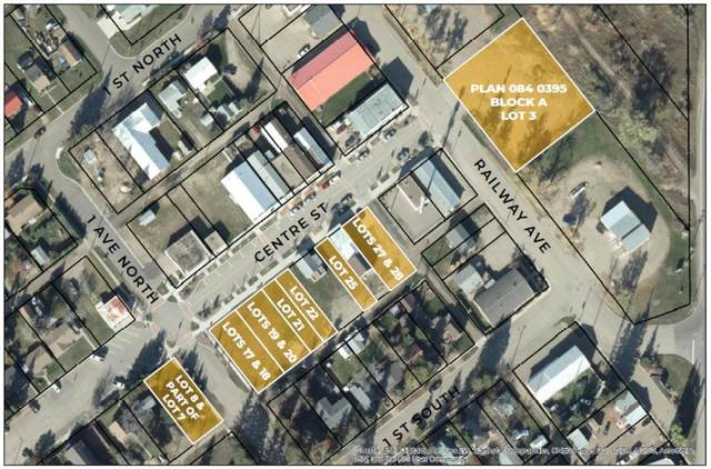Lot 17/18 Center Street, Marwayne, AB T0B 2X0 (#A1108841) :: Calgary Homefinders