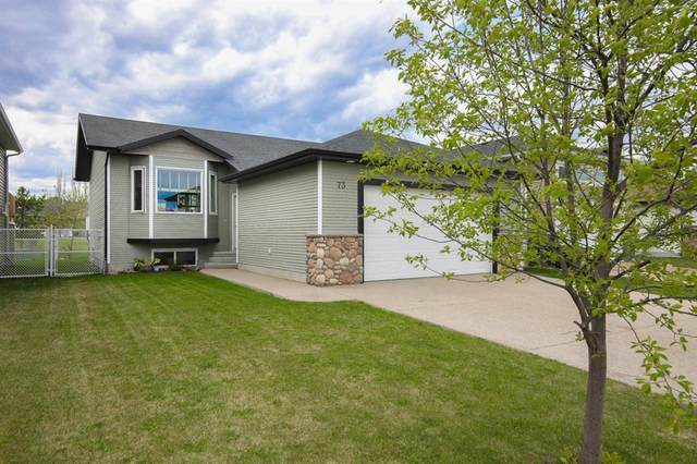 73 Iron Wolf Boulevard, Lacombe, AB T4L 0C7 (#A1109288) :: Calgary Homefinders