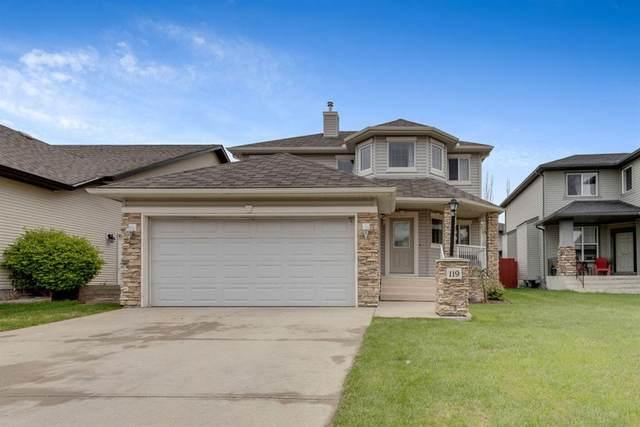119 Cimarron Park Circle, Okotoks, AB T1S 2H5 (#A1109574) :: Calgary Homefinders