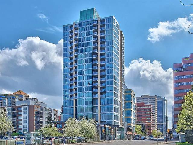 888 4 Avenue SW #1709, Calgary, AB T2P 0V2 (#A1109615) :: Calgary Homefinders