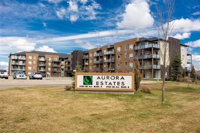 9124 96 Avenue #318, Grande Prairie, AB T8X 0A1 (#A1109854) :: Calgary Homefinders