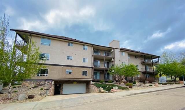 4834 52A Street #106, Camrose, AB T4V 1W4 (#A1110501) :: Calgary Homefinders