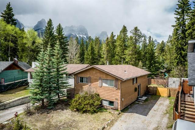 1105 Larch Place, Canmore, AB T1W 1S8 (#A1110594) :: Calgary Homefinders