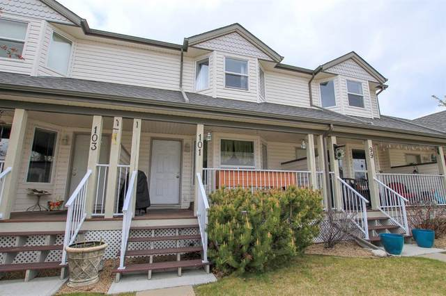 33 Donlevy Avenue #101, Red Deer, AB T4R 3B6 (#A1110668) :: Calgary Homefinders