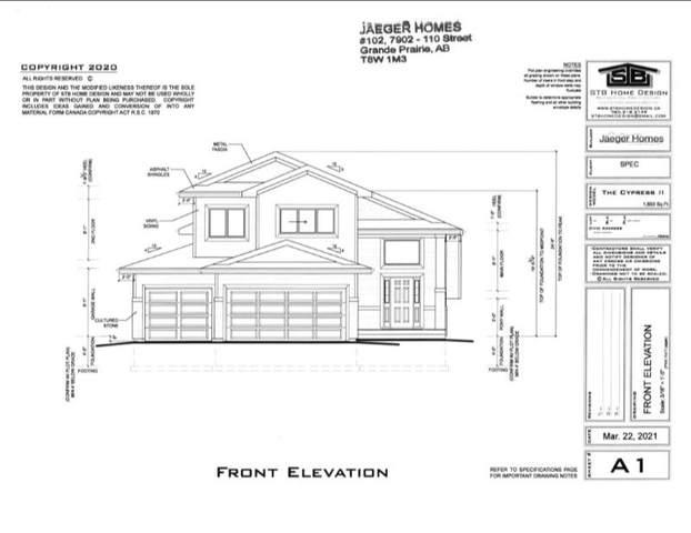 8125 121 Street, Grande Prairie, AB T8W 0M7 (#A1110919) :: Calgary Homefinders