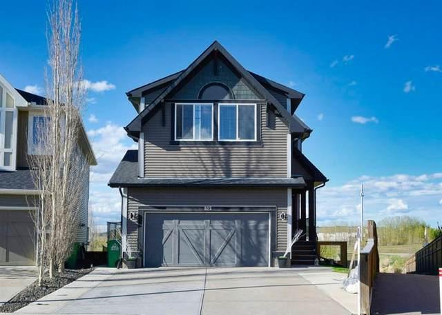 102 Fireside Place, Cochrane, AB T4C 0R4 (#A1110967) :: Calgary Homefinders