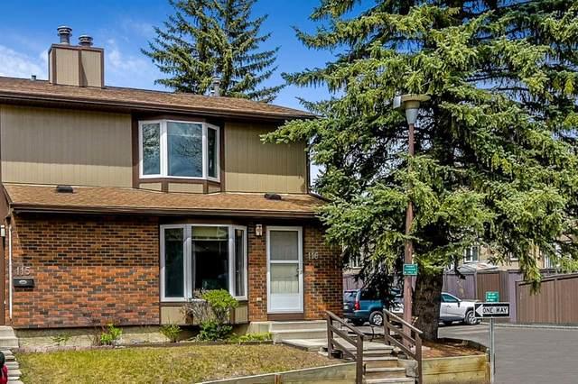 6103 Madigan Drive NE #116, Calgary, AB T2A 5K9 (#A1111387) :: Calgary Homefinders