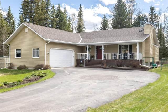 7 Elton Court, Bragg Creek, AB T0L 0K0 (#A1111634) :: Calgary Homefinders