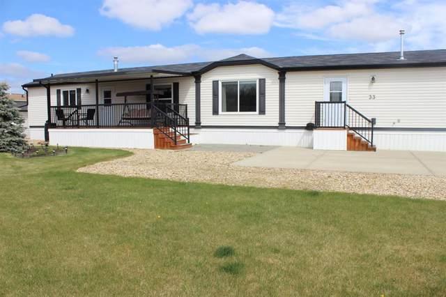 15 Mackenzie Ranch Way #33, Lacombe, AB T4L 0B8 (#A1111752) :: Calgary Homefinders