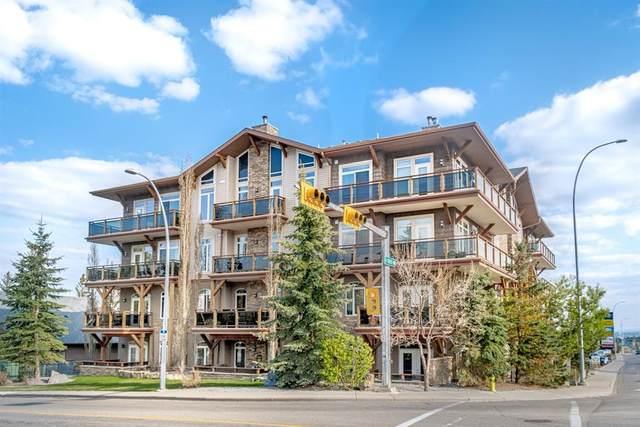 4440 14 Street NW #404, Calgary, AB T2K 1J5 (#A1112099) :: Calgary Homefinders