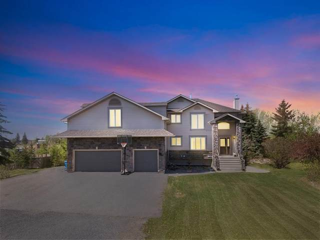 34 Rainbow Boulevard, Rural Rocky View County, AB T0M 0E0 (#A1112110) :: Calgary Homefinders