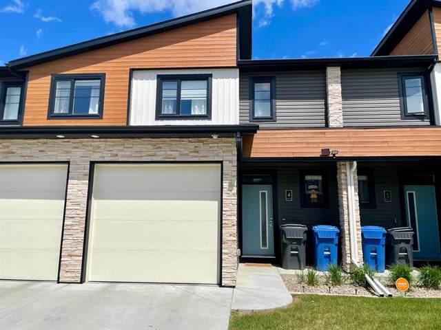 414 Highlands Boulevard W #4, Lethbridge, AB T1J 5K5 (#A1112604) :: Calgary Homefinders