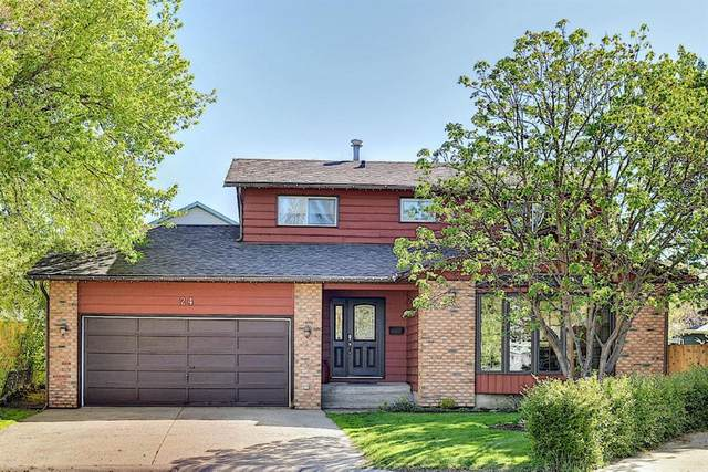 24 Deercross Place, Calgary, AB T2J 6G6 (#A1113068) :: Calgary Homefinders