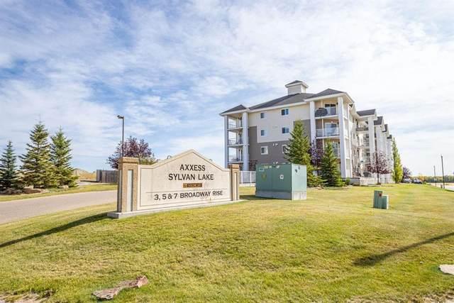 3 Broadway Rise #214, Sylvan Lake, AB T4S 0G9 (#A1113154) :: Greater Calgary Real Estate