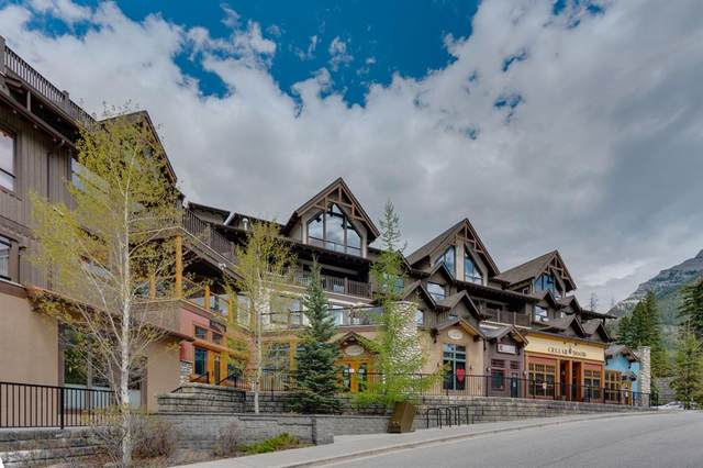 701 Benchlands Trail S #201, Canmore, AB T1W 3G9 (#A1113276) :: Calgary Homefinders