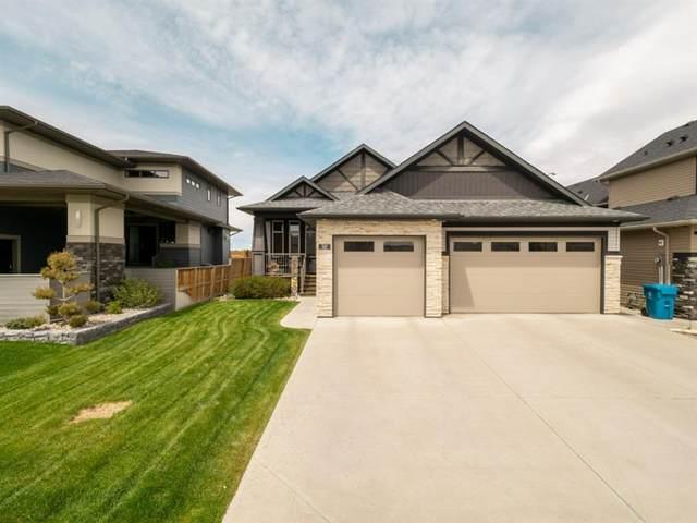 107 Canyon Estates Way W, Lethbridge, AB T1K 5W7 (#A1113314) :: Calgary Homefinders