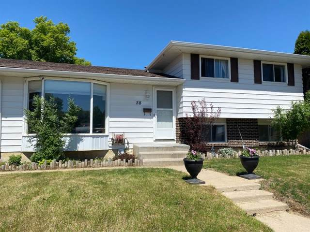 58 Collier Road SE, Medicine Hat, AB T1B 1H7 (#A1113559) :: Calgary Homefinders