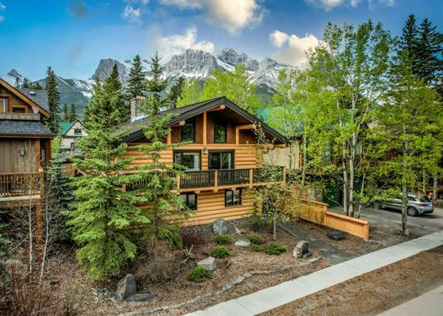 605 5th Street, Canmore, AB T1W 2E9 (#A1113565) :: Calgary Homefinders