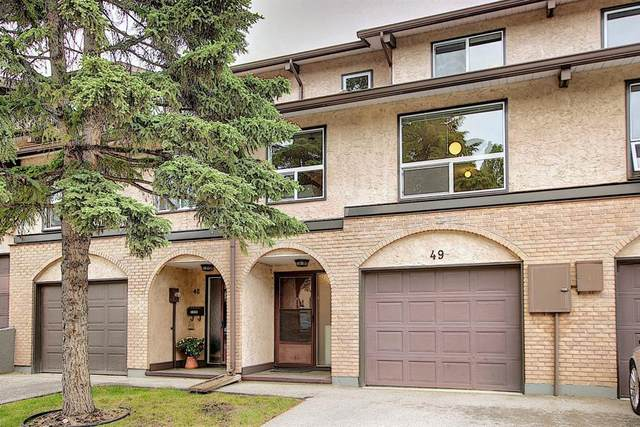 1011 Canterbury Drive SW #49, Calgary, AB T2W 2S8 (#A1113953) :: Calgary Homefinders