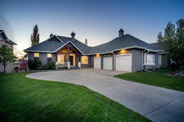 12 Heritage Lake Drive, Rural Foothills County, AB T0L 0X0 (#A1114020) :: Calgary Homefinders