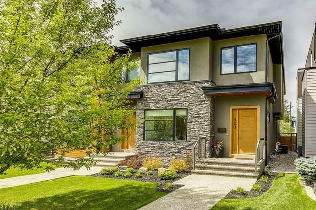 403 16 Street NW, Calgary, AB T2N 2C2 (#A1114271) :: Calgary Homefinders
