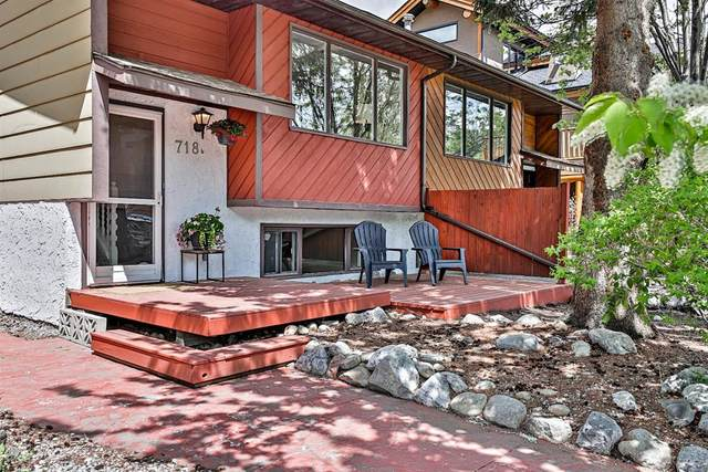 718B 3rd Street, Canmore, AB T1W 2J6 (#A1114429) :: Calgary Homefinders