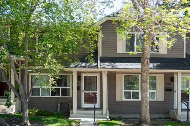332 Queenston Heights SE, Calgary, AB T2J 6R8 (#A1114442) :: Calgary Homefinders