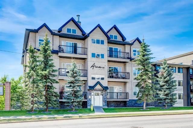 1515 11 Avenue SW #302, Calgary, AB T3C 0N1 (#A1114615) :: Calgary Homefinders