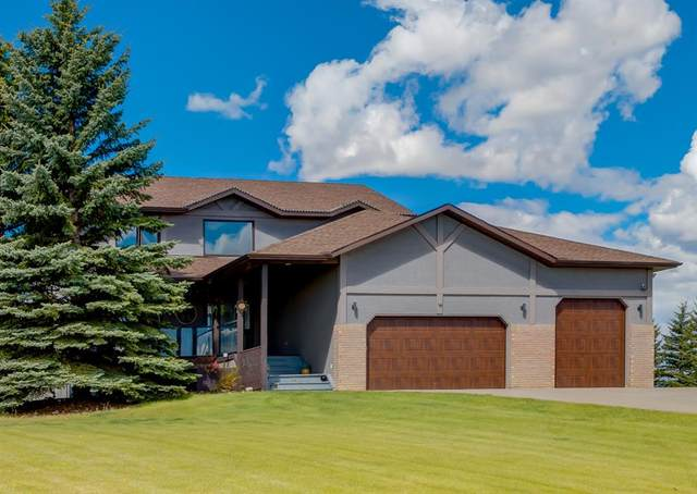 127 Country Lane Drive, Rural Rocky View County, AB T3Z 1J6 (#A1114660) :: Calgary Homefinders
