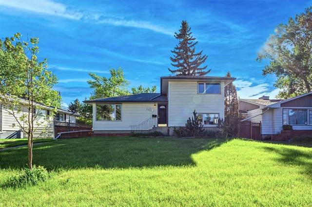 2327 23 Street NW, Calgary, AB T2M 3Y1 (#A1114808) :: Calgary Homefinders