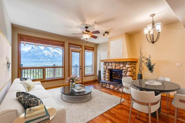 701 Benchlands Trail #303, Canmore, AB T1W 3G9 (#A1115050) :: Calgary Homefinders