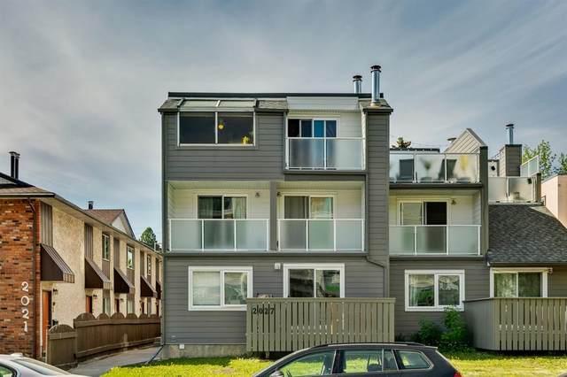 2027 34 Avenue SW #5, Calgary, AB T2T 2C4 (#A1115146) :: Calgary Homefinders