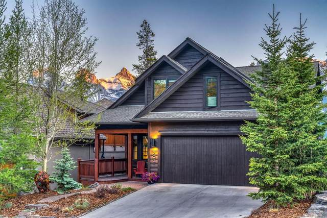 203 Eagle Point, Canmore, AB T1W 3E6 (#A1115320) :: Canmore & Banff