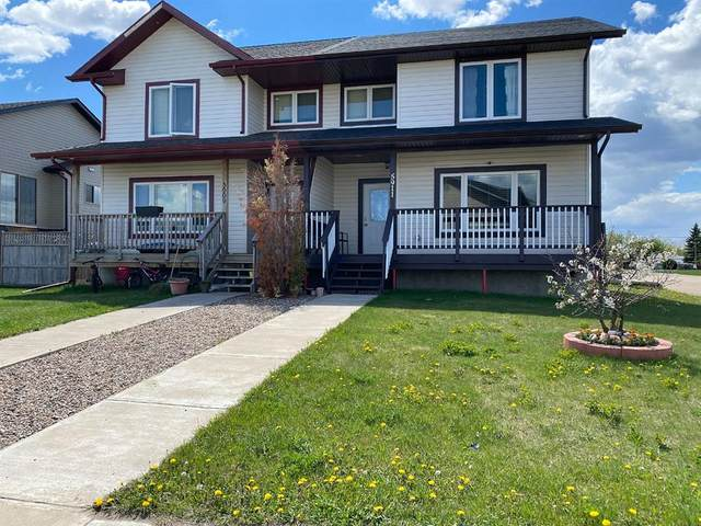 5911 53 Avenue, Stettler Town, AB T0C 2L2 (#A1115335) :: Calgary Homefinders