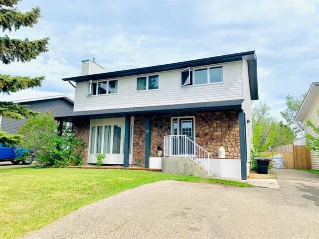 10 Blackstone Avenue, Lacombe, AB T4L 1P8 (#A1115362) :: Calgary Homefinders