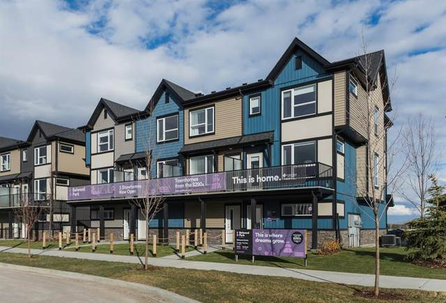 850 Belmont Drive #221, Calgary, AB T2X 4A5 (#A1115673) :: Greater Calgary Real Estate