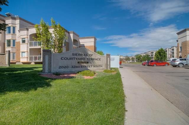 2020 32 Street S #126, Lethbridge, AB T1K 7T9 (#A1115684) :: Calgary Homefinders