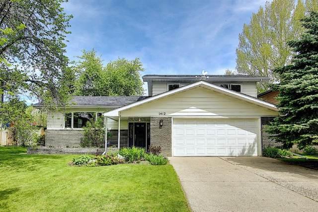 1412 Colleen Avenue SW, Calgary, AB T2V 2R5 (#A1115868) :: Calgary Homefinders