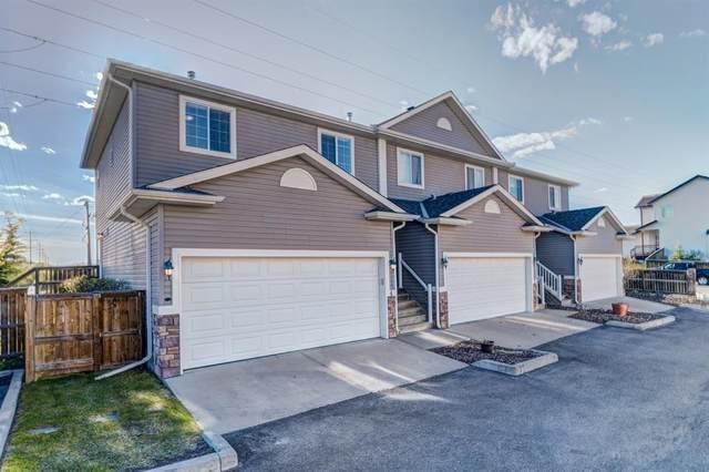 136 Bow Ridge Drive #4, Cochrane, AB T4C 1V8 (#A1116097) :: Calgary Homefinders