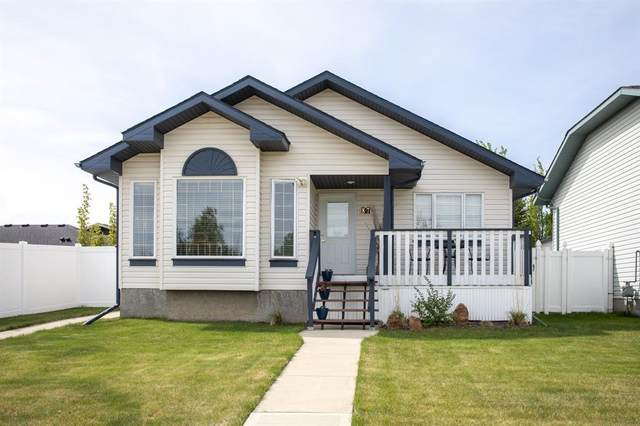 87 Woodland Drive, Lacombe, AB T4L 2L5 (#A1116106) :: Western Elite Real Estate Group