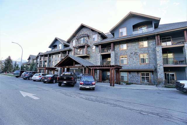 1818 Mountain Avenue 223A, Canmore, AB T1W 1L7 (#A1116144) :: Calgary Homefinders
