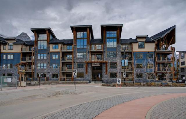 1105 Spring Creek Drive #410, Canmore, AB T1W 0L9 (#A1116149) :: Calgary Homefinders