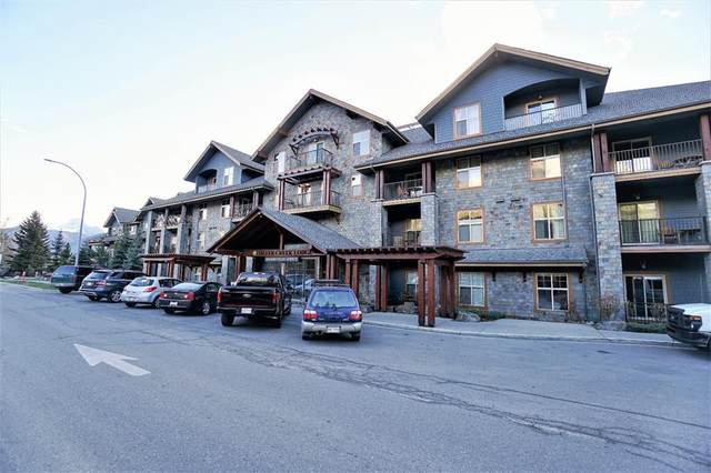 1818 Mountain Avenue 209D, Canmore, AB T1W 1L7 (#A1116150) :: Calgary Homefinders