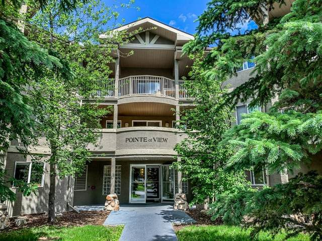 115 Elk Run Boulevard S #313, Canmore, AB T1W 1G8 (#A1116393) :: Calgary Homefinders